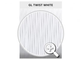 Стекло GL Silk 04 TWIST WHITE - купемаркет.рф